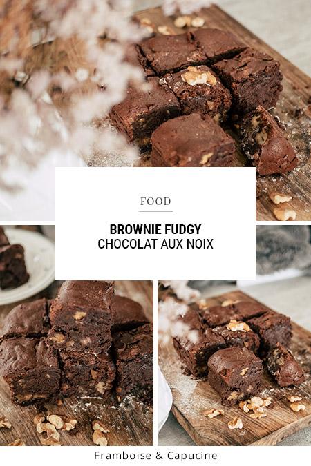 Recette : Brownie