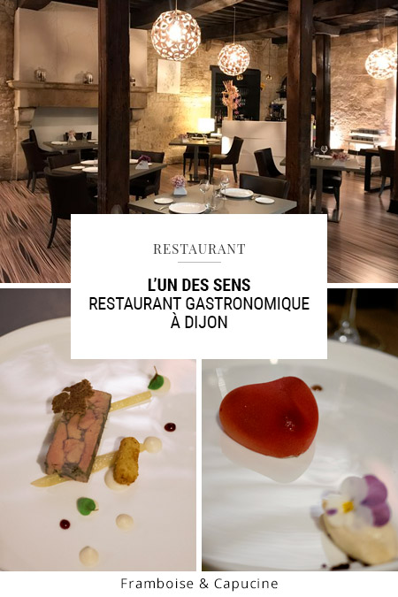 Restaurant gastronomique L'un des sens à Dijon