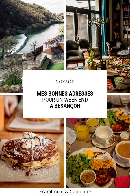 Mes bonnes adresses pour un week-end à Besançon