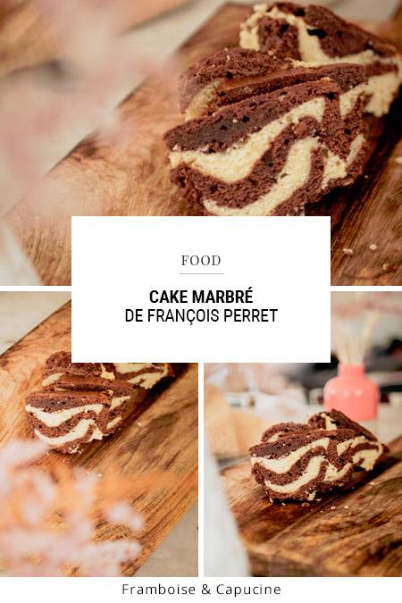 Recette du cake marbré façon François Perret