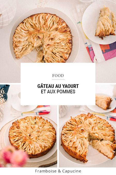 Recette du gâteau au yaourt et aux pommes