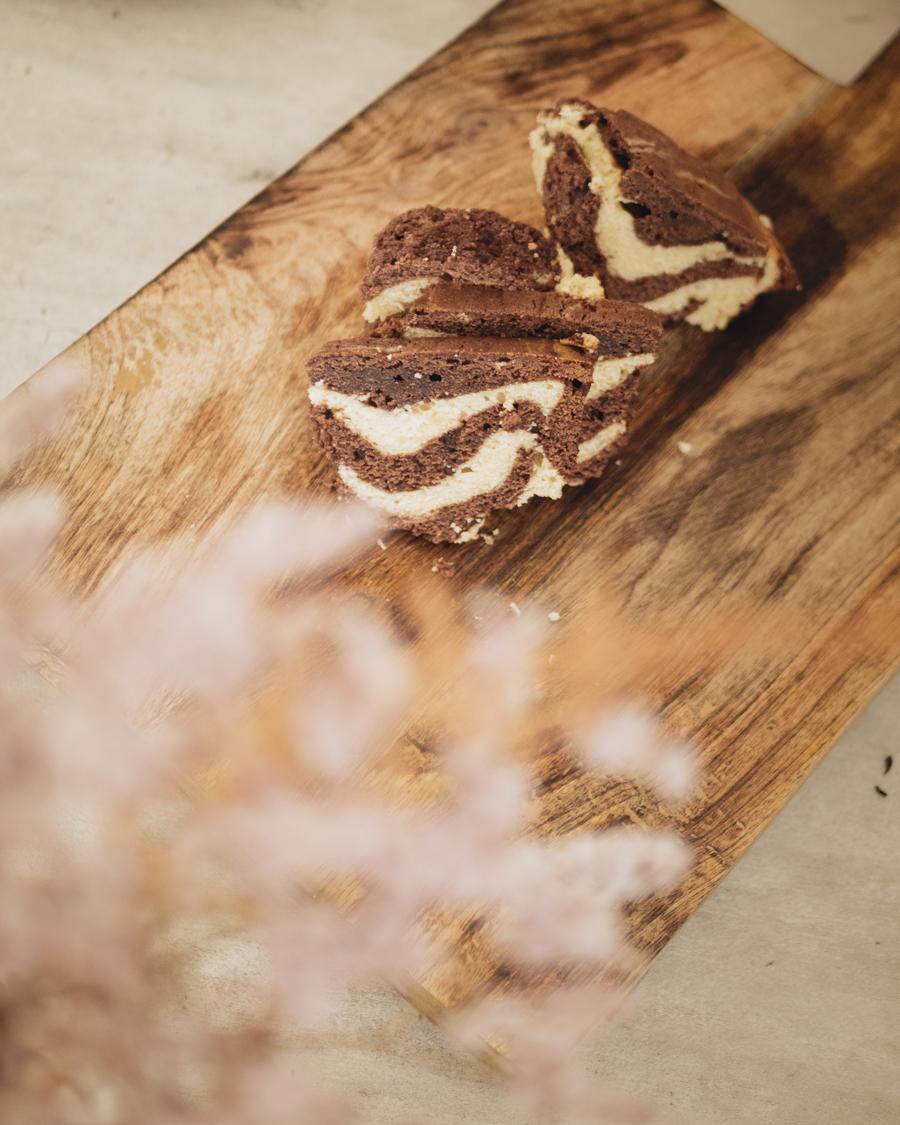 Gâteau marbré façon François Perret