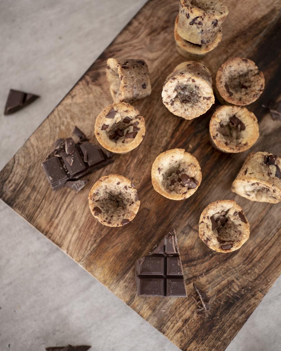 recette cookies cups chocolat