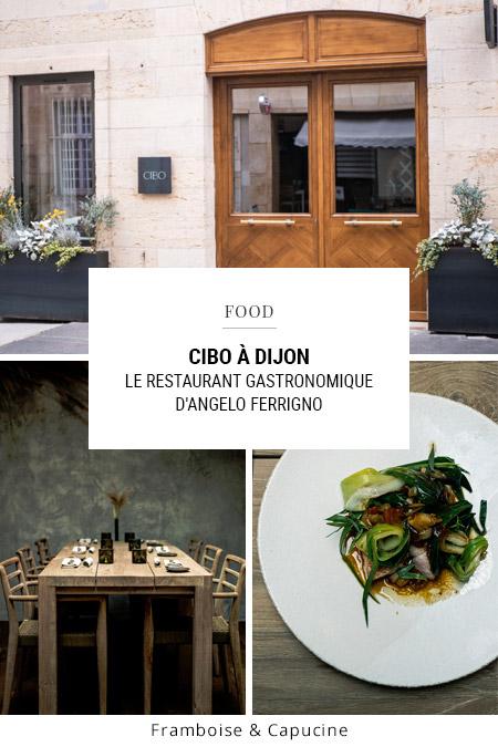 Restaurant Cibo à Dijon
