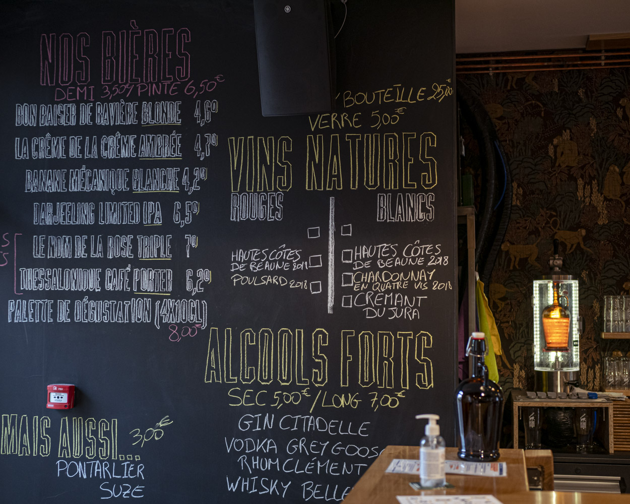 Bar un singe en hiver Dijon