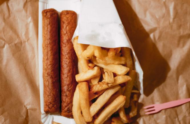 Fricadelle frites