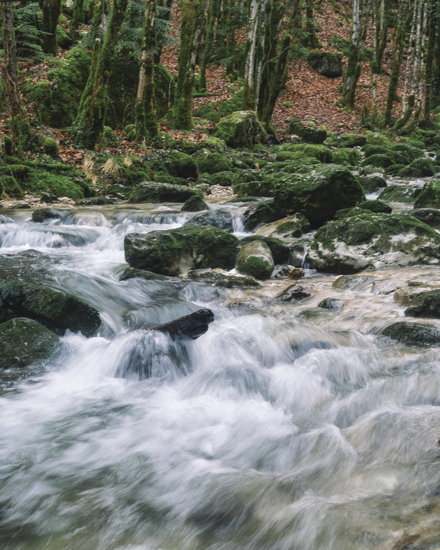 Jura cascade du hérisson