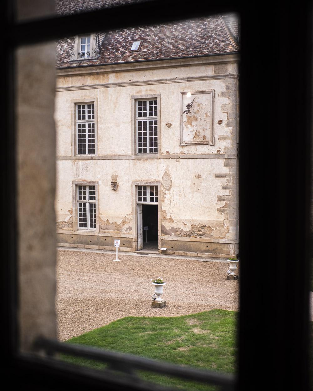 Château de Commarin en Bourgogne