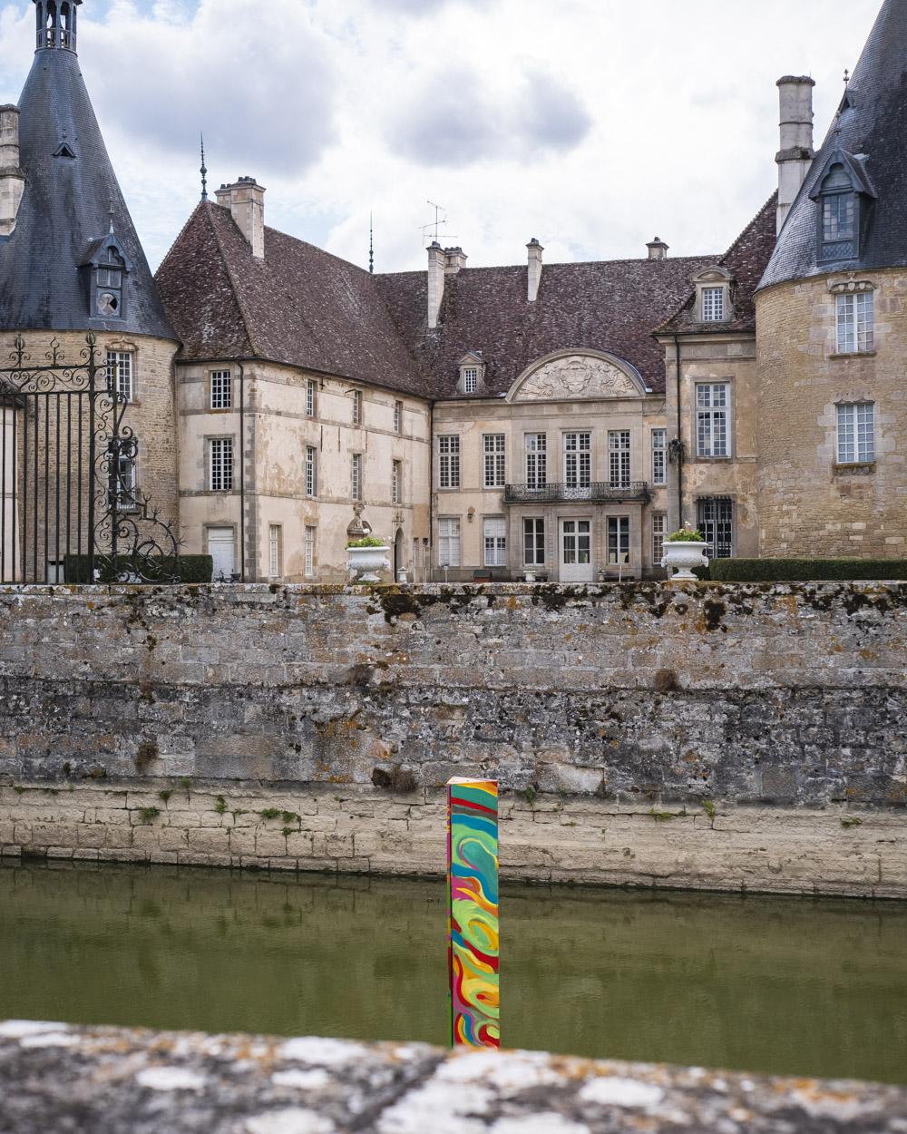 Château de Commarin exposition Kevin Pearsh