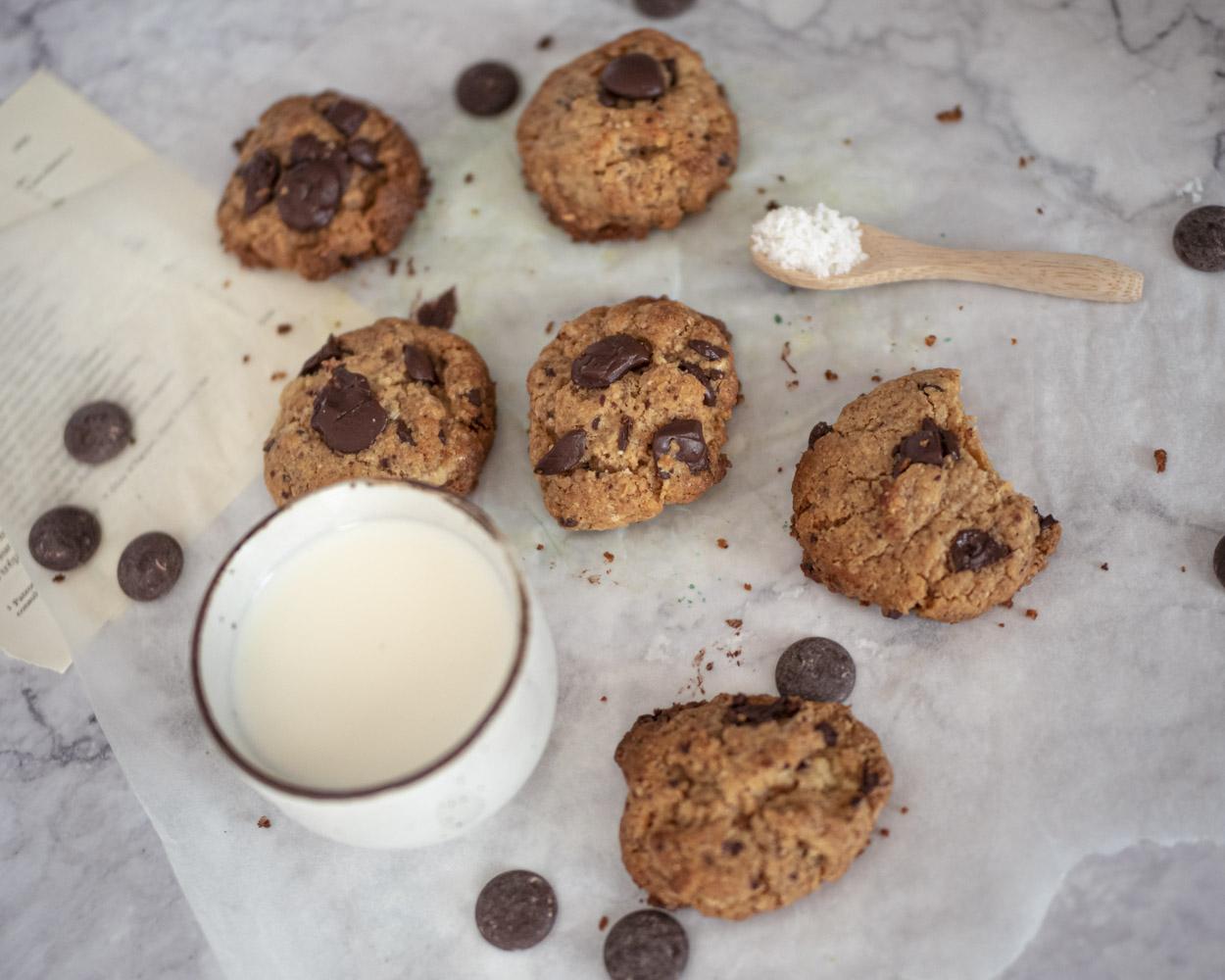 recette cookies deux chocolats