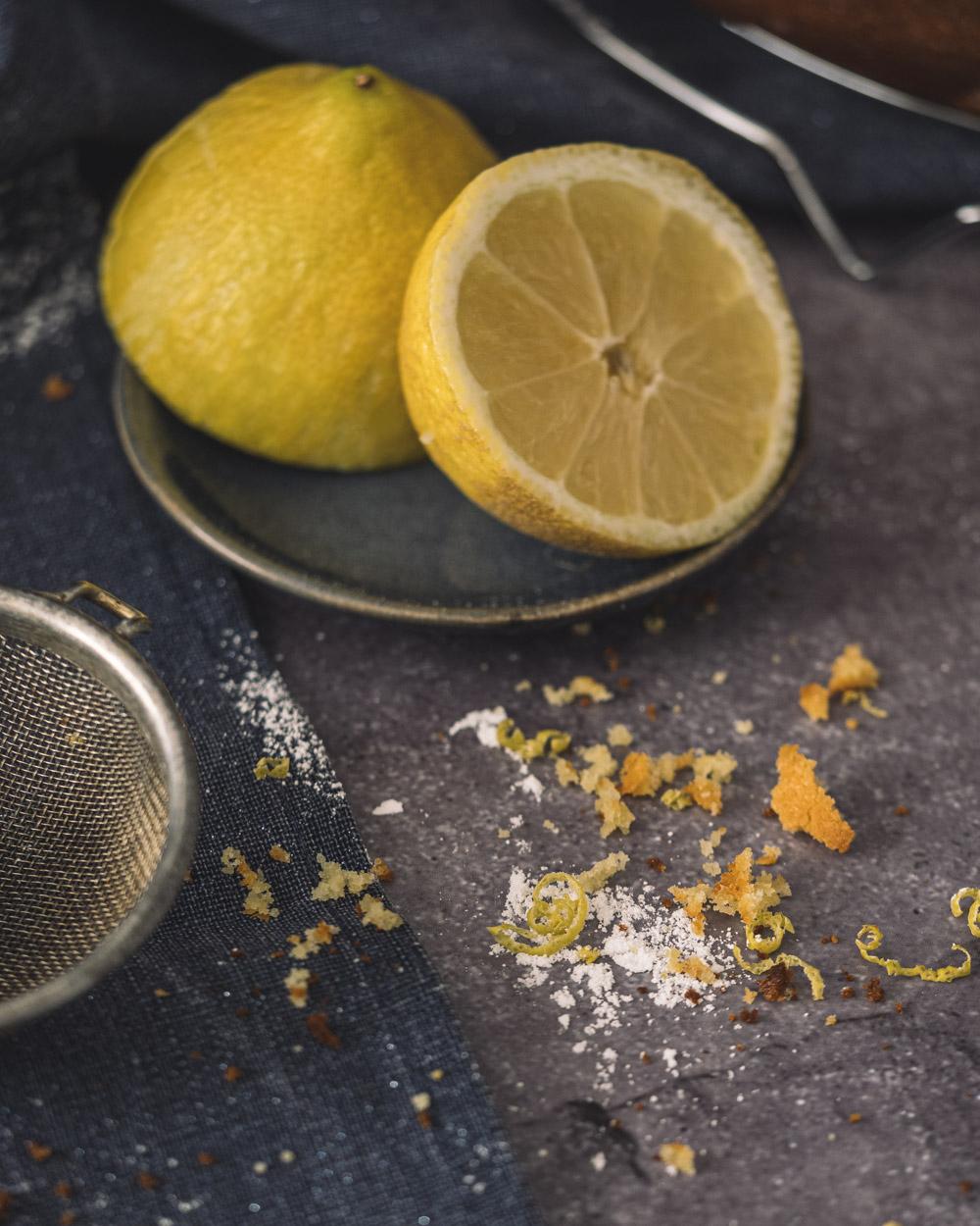 Gâteau bundt cake citron mascarpone