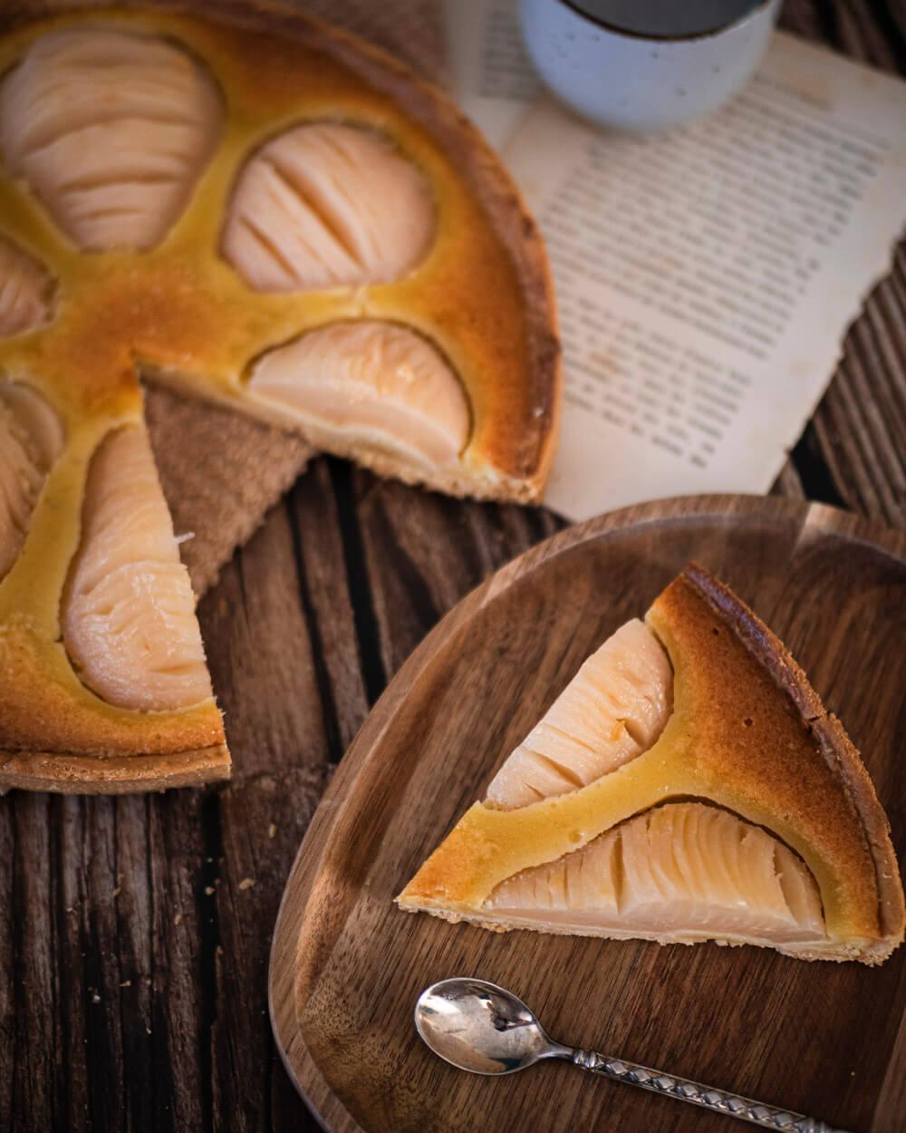 tarte bourdaloue poires amandes