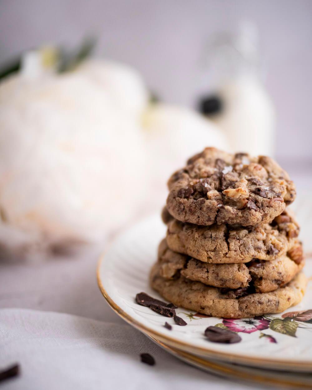 Cookies chocolat-pécan par Nicolas Paciello (Prince de Galles)