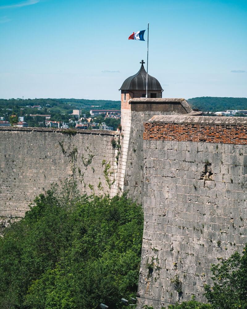 Citadelle de Besançon remparts