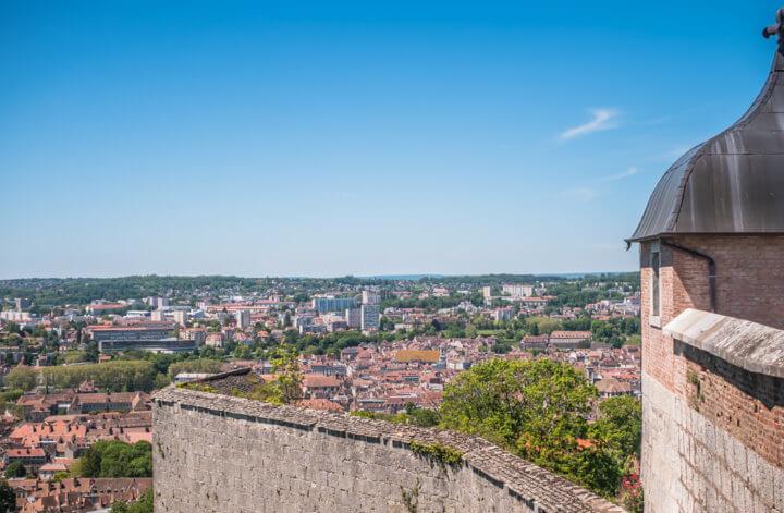 Citadelle de Besançon vue panorama