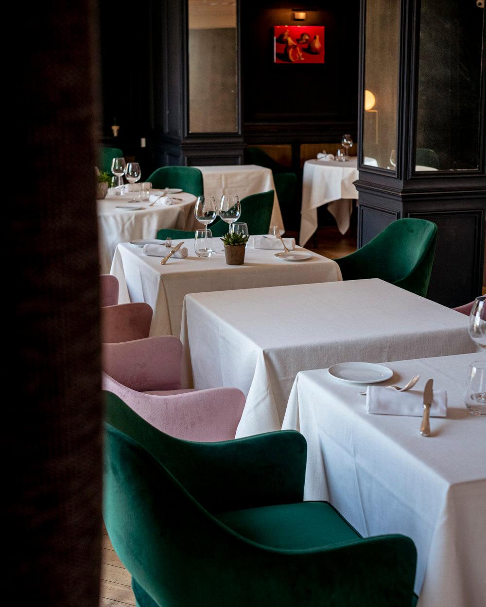 Ermitage Corton Chorey-les-Beaune hôtel restaurant