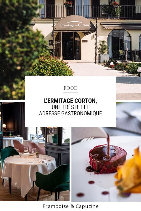 L'Ermitage Corton, une très belle adresse gastronomique en Bourgogne