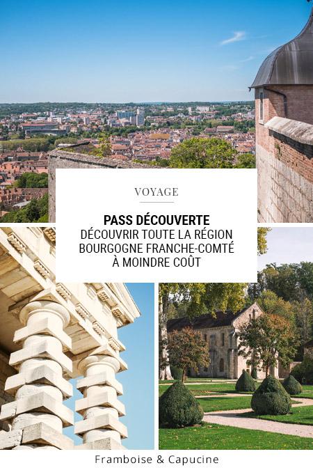 Pass Découverte Bourgogne Franche-Comté Tourisme : Découvrir toute la région à moindre coût