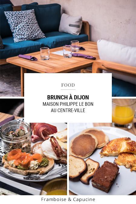 Le brunch à l'assiette de la Maison Philippe le Bon à Dijon
