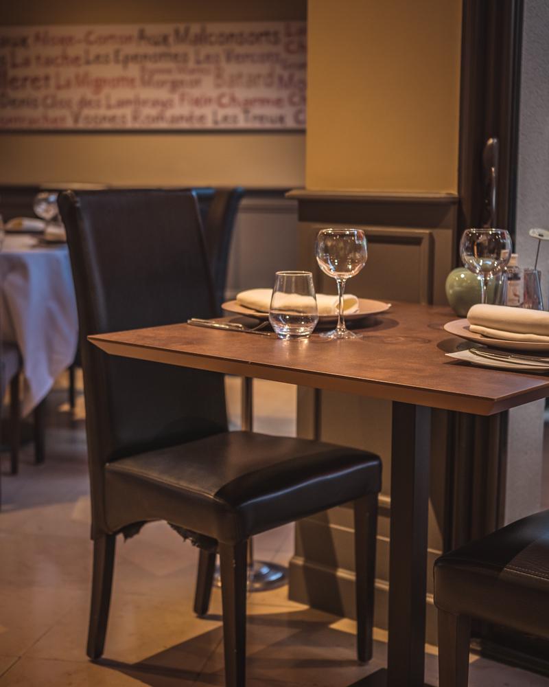 Christian Quenel restaurant Flagey-Echezeaux restaurant