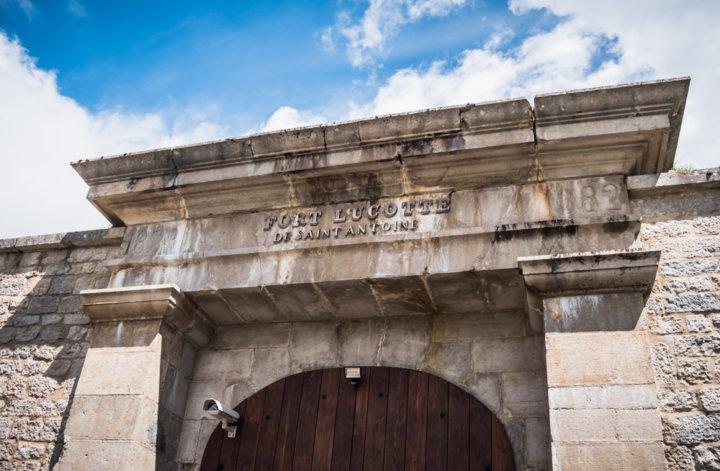 Fort Saint-Antoine cave d'affinage du Comté