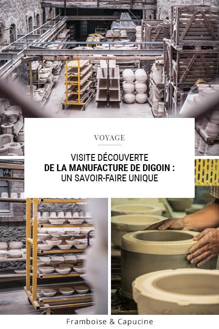 Visite découverte de la Manufacture de Digoin : un savoir-faire unique
