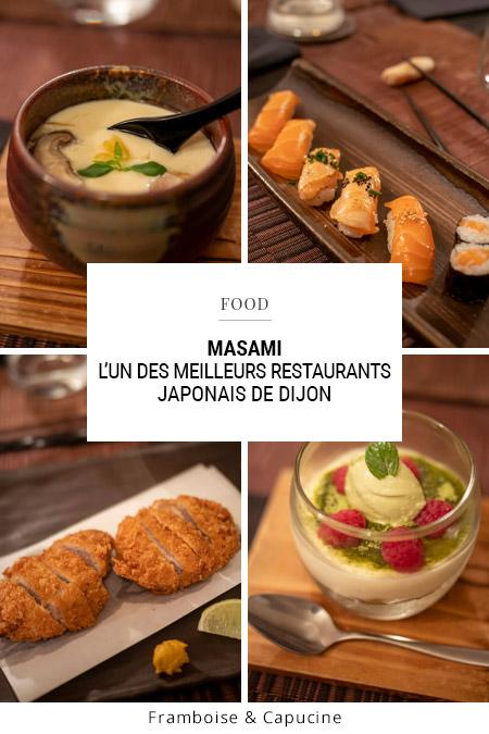 Masami : l'un des meilleurs restaurants japonais de Dijon