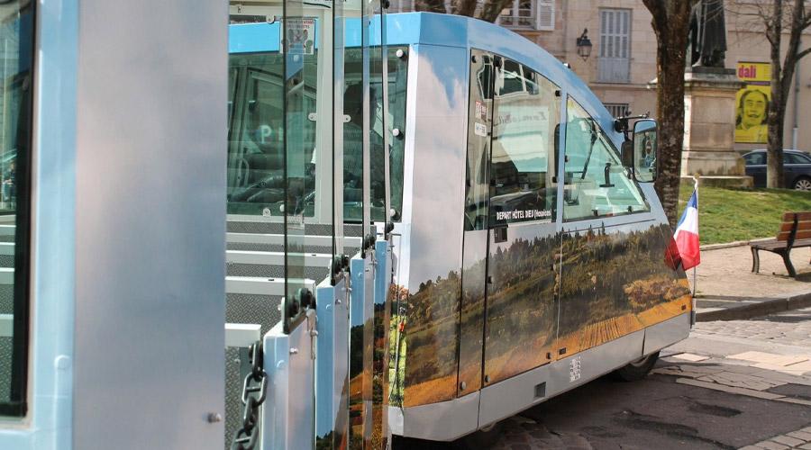 Petit train Visiotrain Beaune