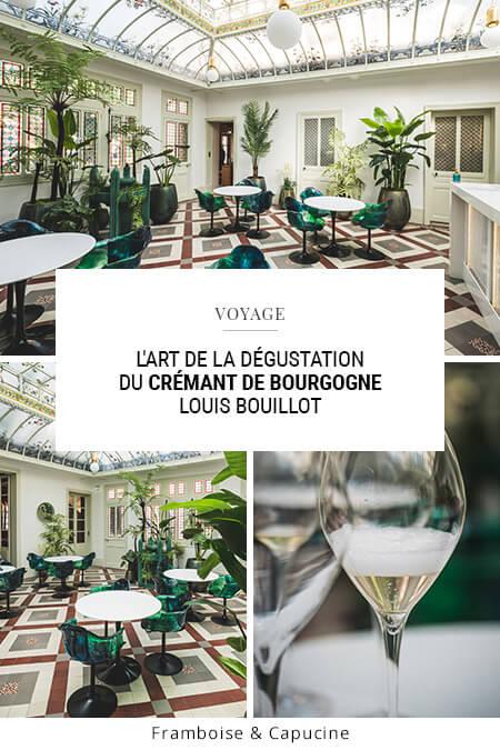 L'art de la dégustation du Crémant de Bourgogne Louis Bouillot à Nuits-Saint-Georges